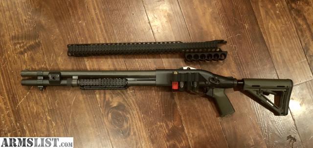 ARMSLIST - For Sale: Remington 870 w/upgrades