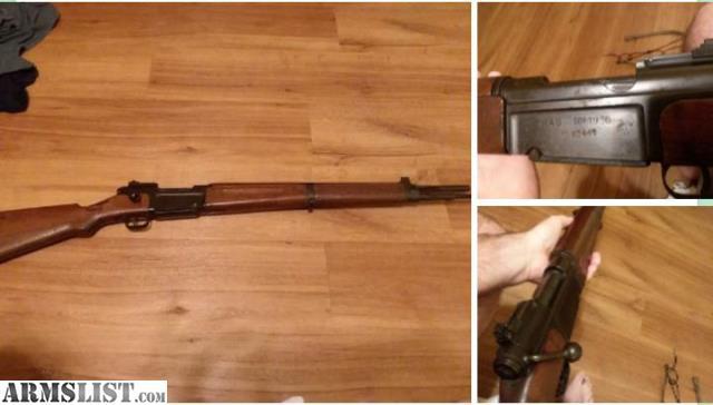 ARMSLIST - For Sale: Mas36 French ww2 rifle