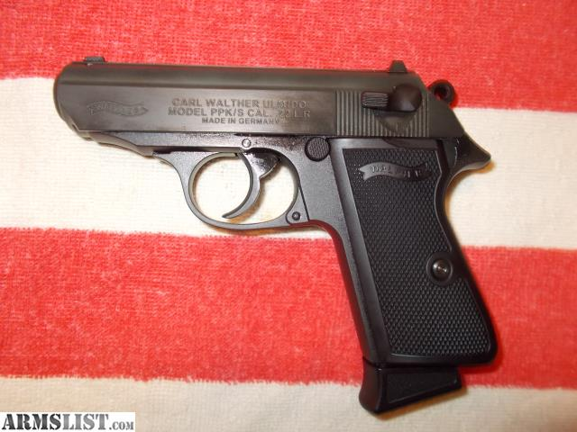 ARMSLIST - For Sale: Walther PPK/S  22lr w/ threaded barrel