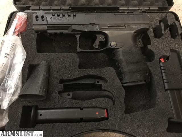 ARMSLIST - For Sale: Walther PPQ M2 - Q5 Match - Optics