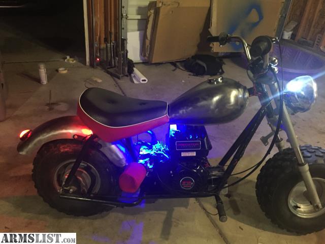 ARMSLIST - For Sale: Custom Mini bike
