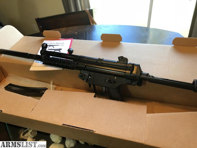 ARMSLIST - For Sale: H&K Mp5 Cohaire Arms LNIB For Trade