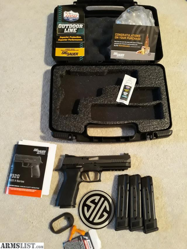 ARMSLIST - For Sale/Trade: Sig P320 X5 9mm