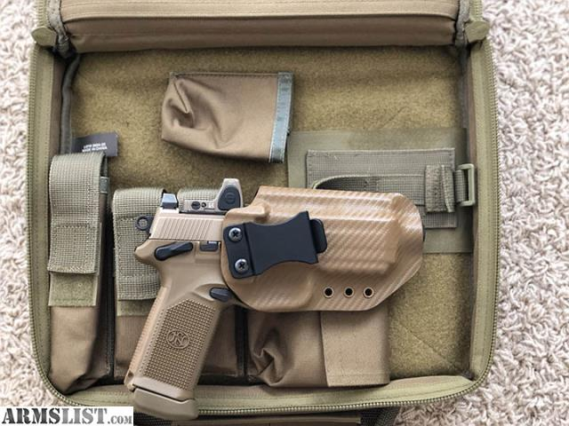 ARMSLIST - For Sale: FNX-45 Tactical FDE w/ Trijicon RMR