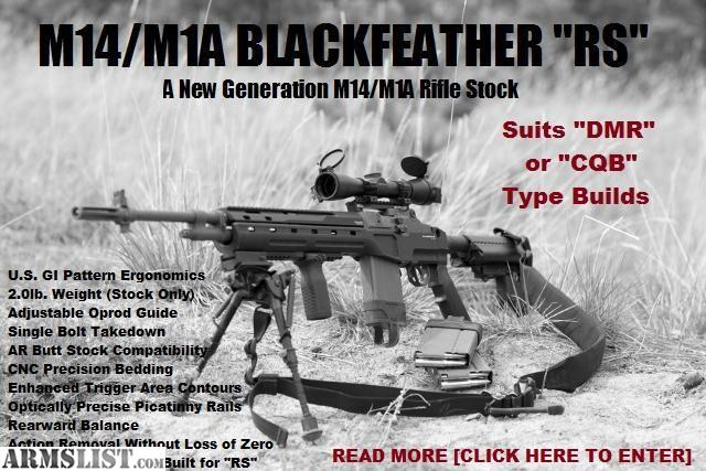 ARMSLIST - For Sale: M1A Blackfeather RS Stock