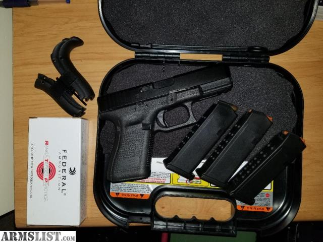 ARMSLIST - For Sale: Glock 19 Gen 5 (used, VG/Excellent)