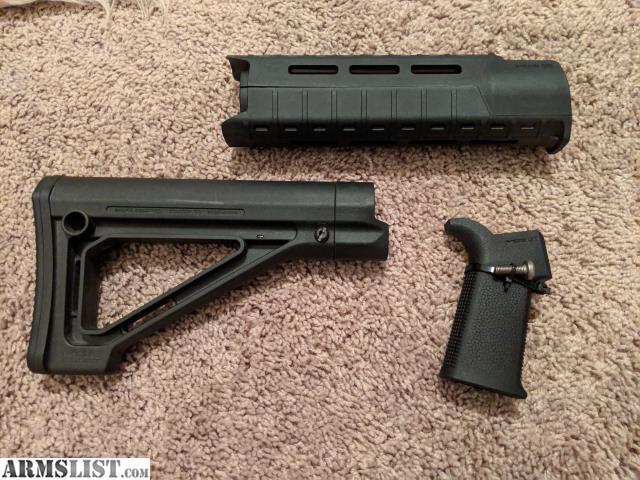Armslist For Sale Magpul Black Carbine Ar15 Furniture Kit