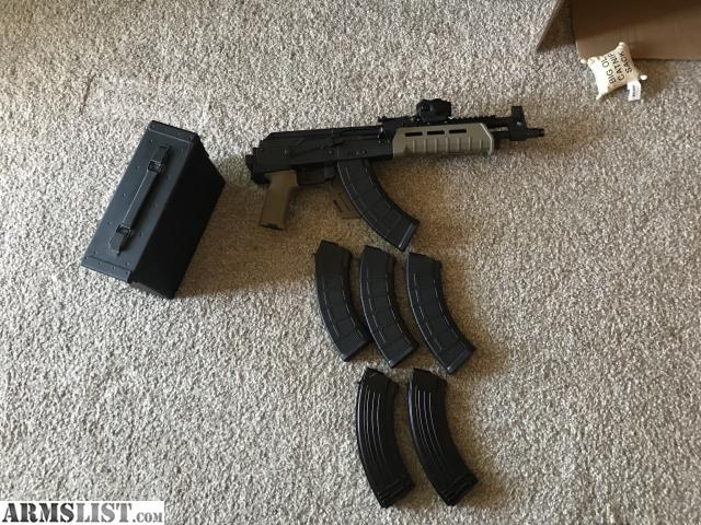 ARMSLIST - For Sale: Upgraded Draco AK PLUS EXTRAS