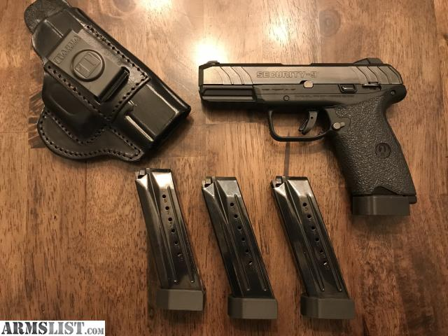 ARMSLIST - For Sale/Trade: Ruger Security 9 with 4 mags and