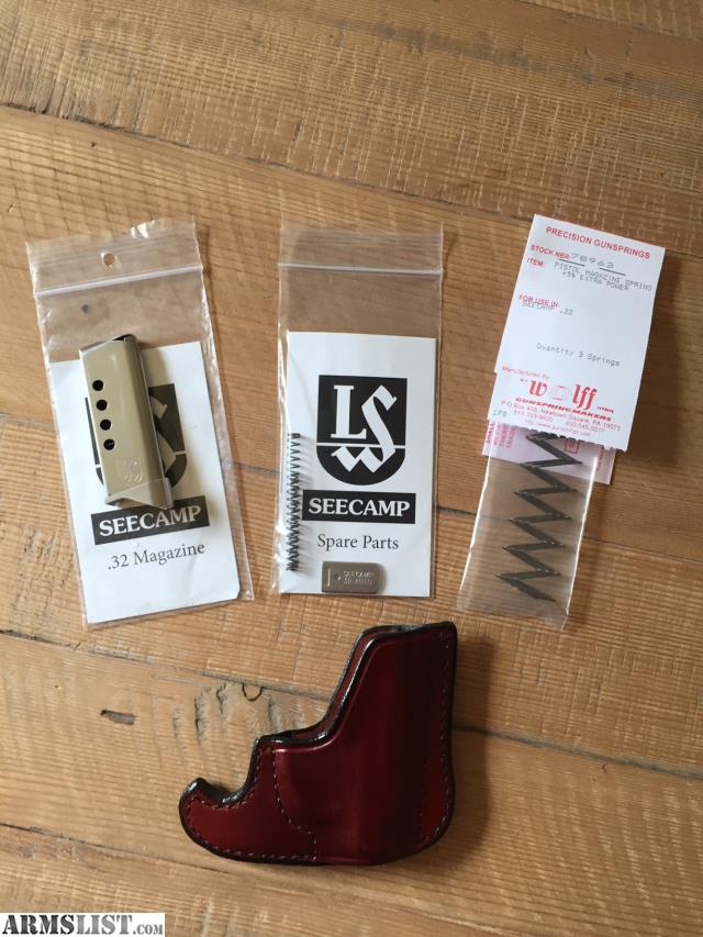 ARMSLIST - For Sale: Seecamp Magazine, Holster, Accessories