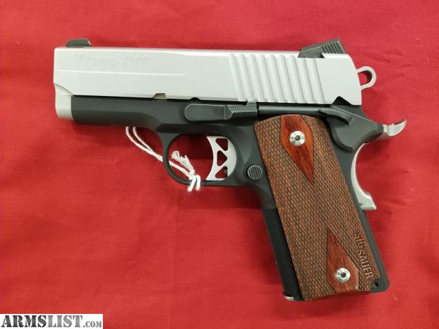 ARMSLIST - For Sale: Used Sig Sauer 1911 Ultra Compact 45 ACP