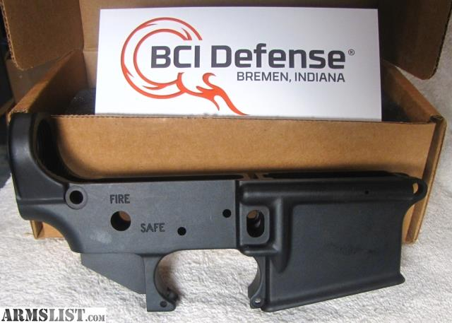 ARMSLIST - For Sale: BCI Defense AR-15 Stripped Lower