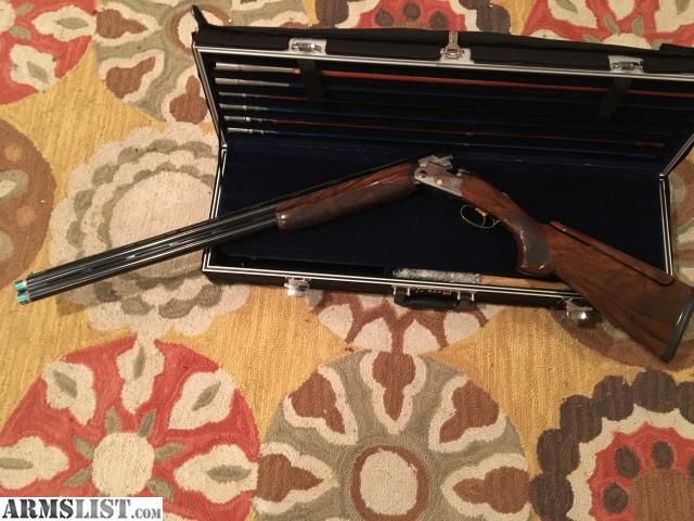 Up For Sale Is Beretta 682 Gold E In 12 Gauge 30inch Excellent Condition It Comes Complete With Full Briley Ultrilite Customfittube Setsin20 28 And410