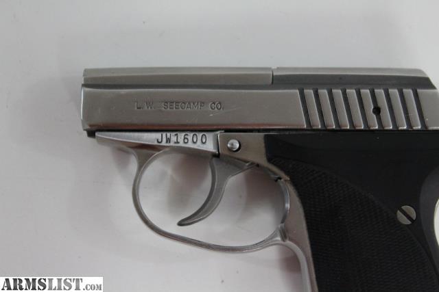 ARMSLIST - For Sale: L W  Seecamp  32 ACP pistol