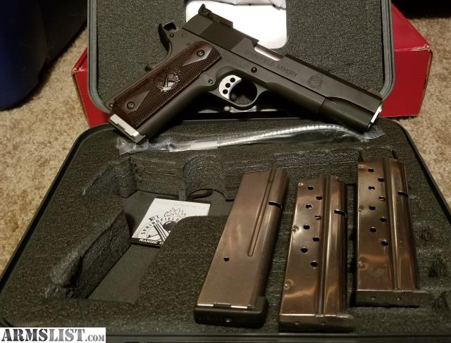 ARMSLIST - For Sale: Springfield Range Officer 1911 9mm and