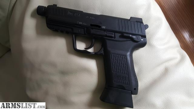 ARMSLIST - For Sale: HK45CT Compact Tactical V3 German ...