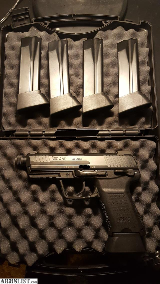 ARMSLIST - For Sale/Trade: HK45CT Compact Tactical V3 German Proof Marks