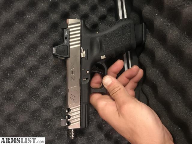ARMSLIST - For Sale/Trade: Gen 3 glock 19 Zev custom