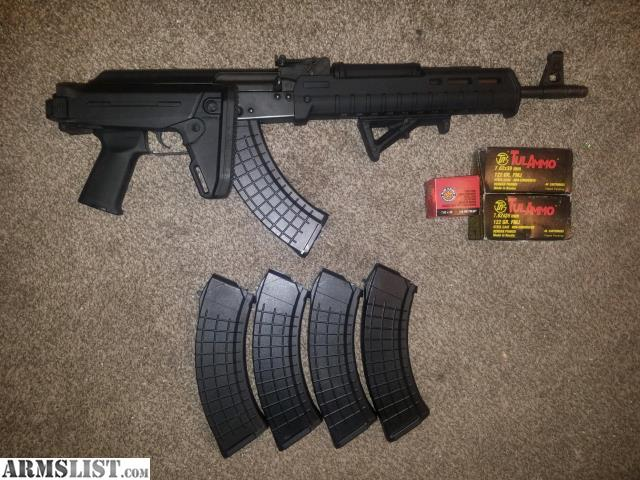 ARMSLIST - For Sale: Ak47,10 mags, 1000 rounds ammo