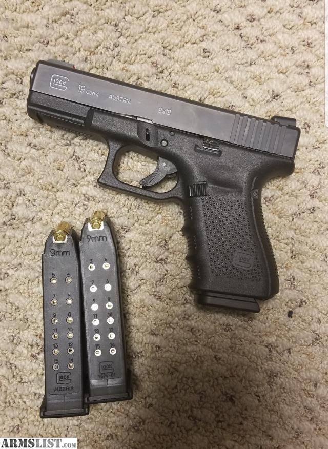 armslist for sale glock 19 gen 4 holster