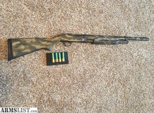 ARMSLIST - For Sale: Mossberg 500 turkey 12 ga  Factory