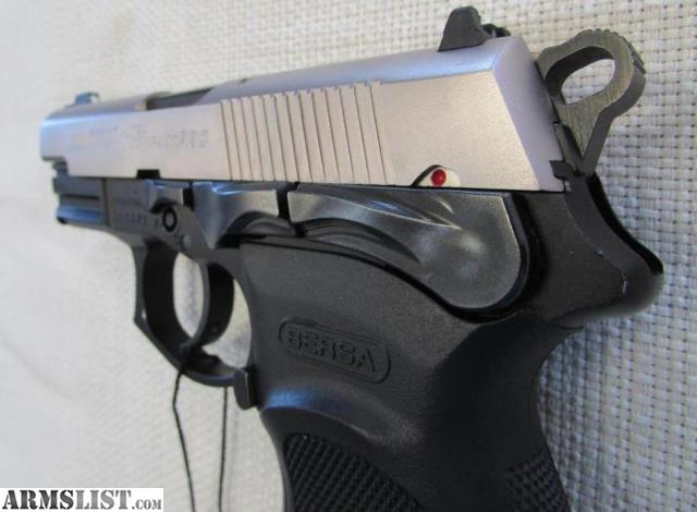 ARMSLIST - For Sale: Bersa Thunder 9 9mm Call 540-785-7474