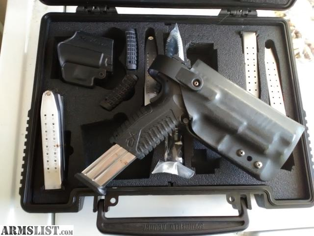 ARMSLIST - For Sale: Springfield Xdm 5 mags and duty holster 9mm