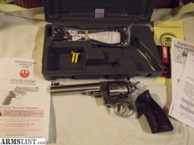 ARMSLIST - For Sale: Ruger GP100 22LR Revolver