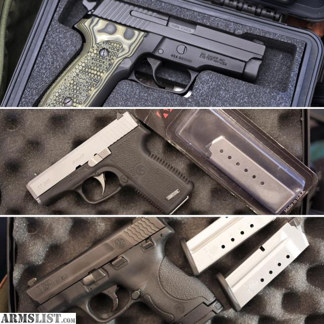 ARMSLIST - For Sale/Trade: 3 for trade: Sig M11-A1, Kahr