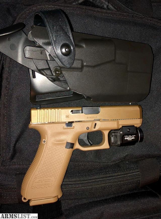 ARMSLIST - For Sale: Glock 19X Streamlight TLR7 Battle Belt