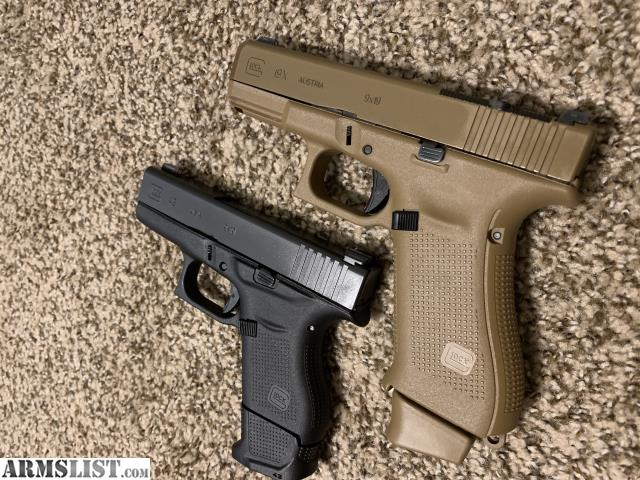 ARMSLIST - For Sale/Trade: Glock 19x and Glock 43