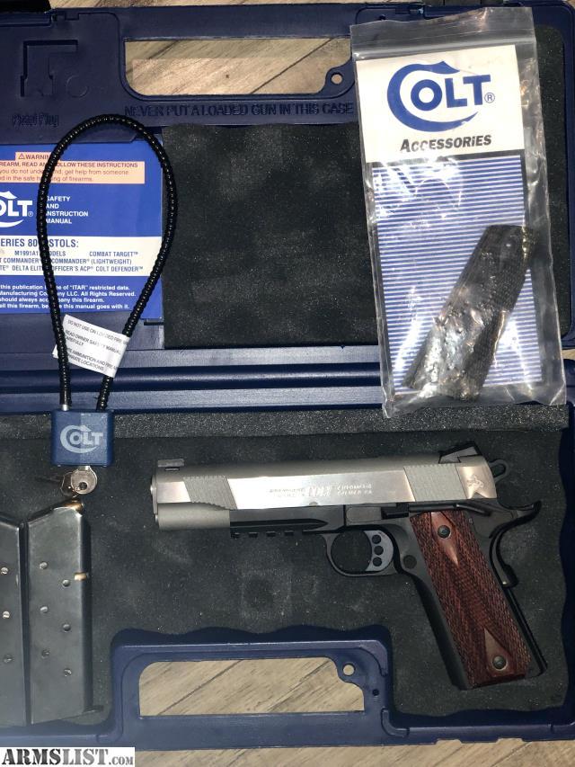 ARMSLIST - For Sale: Colt 1911 A1 Enhanced Two-Tone Govt