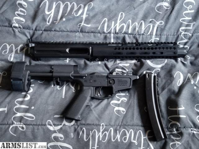 ARMSLIST - For Sale: NFA C5 slick side upper AR9 MP5