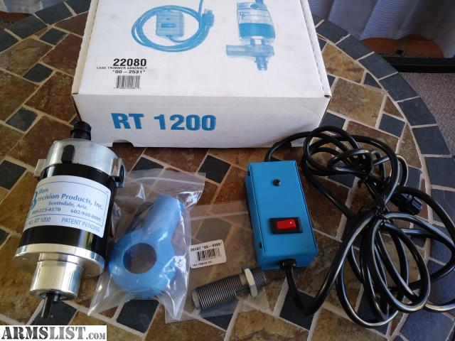 ARMSLIST - For Sale: Dillon Precision RT1200 trimmer and die