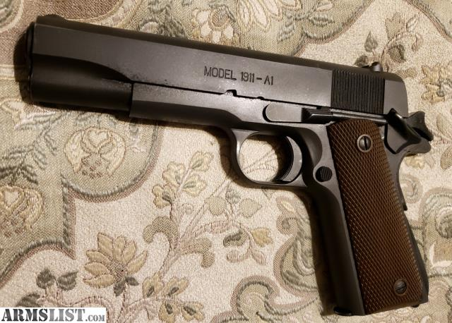 ARMSLIST - For Trade: Springfield 1911a1 GI model