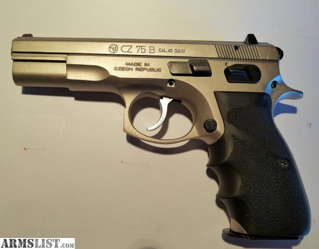 ARMSLIST - For Sale/Trade: Stainless CZ 75B want Beretta M9