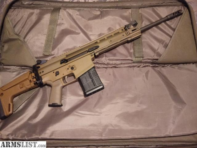 ARMSLIST - For Sale: FNH Scar 17 Fde upgraded