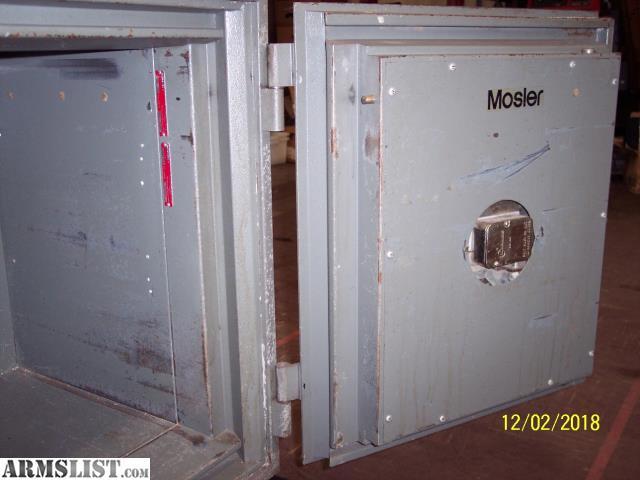ARMSLIST - For Sale: Mosler single door safe
