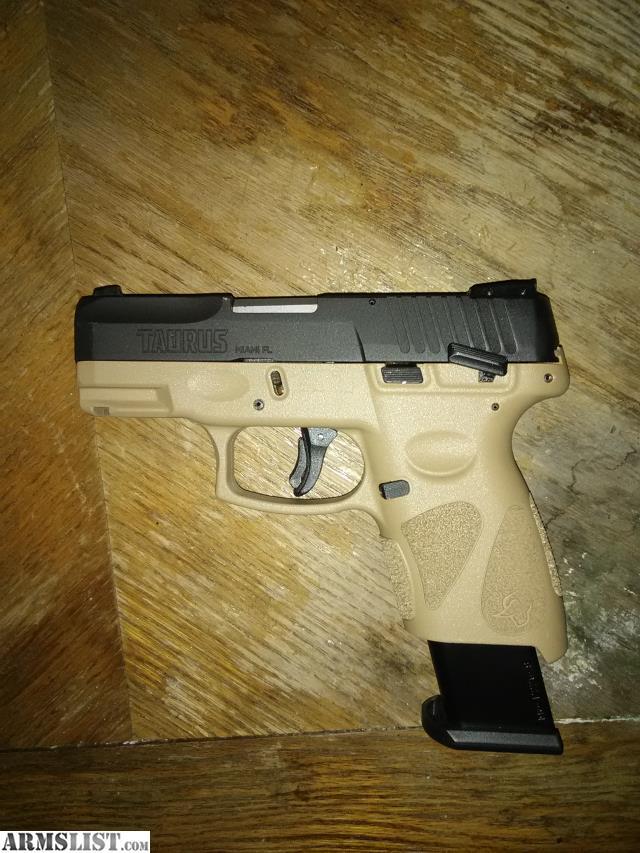 ARMSLIST - For Sale/Trade: Taurus PT111 G2C 9MM TAN-