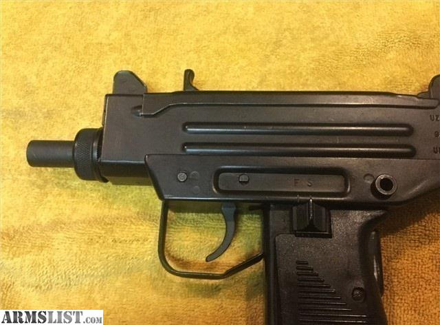 ARMSLIST - For Sale: Preban IMI UZI pistol 9mm Action Arms