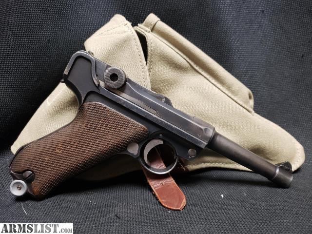 ARMSLIST - For Sale: WWI Luger Imperial Navy Markings P08 10