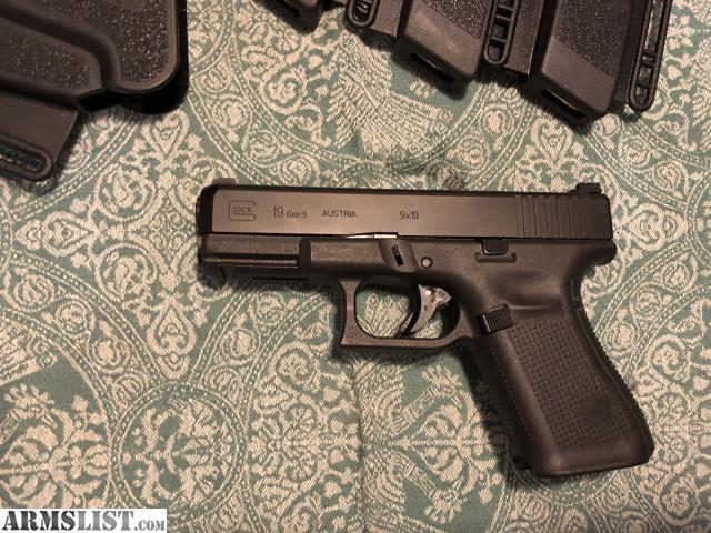 ARMSLIST - For Sale: Glock 19 Gen 5
