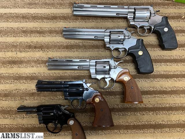 ARMSLIST - For Sale: Colt Snake Gun Set *Cobra, Diamondback
