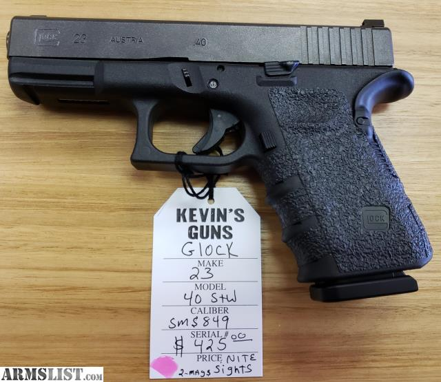 Armslist For Sale Glock 23 40cal