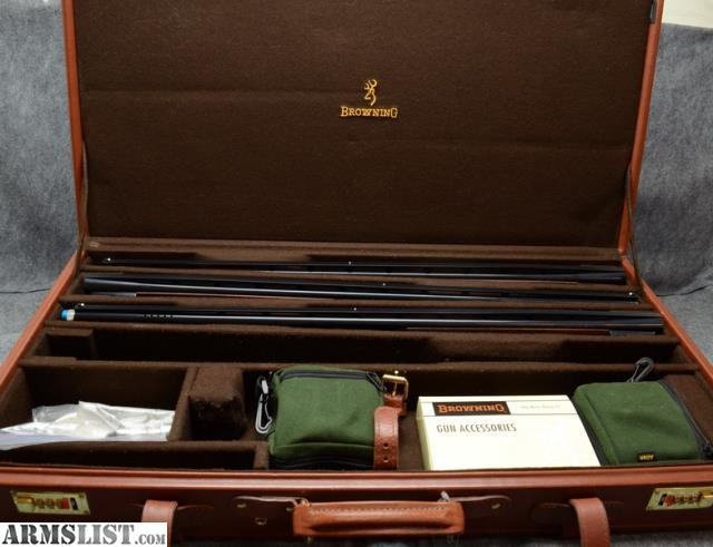 ARMSLIST - For Sale: Browning Citori 4 barrel skeet set 2006