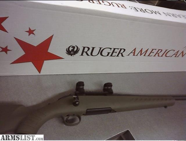 ARMSLIST - For Sale: RUGER AMERICAN PREDATOR 6 5 CREEDMOOR OD Green