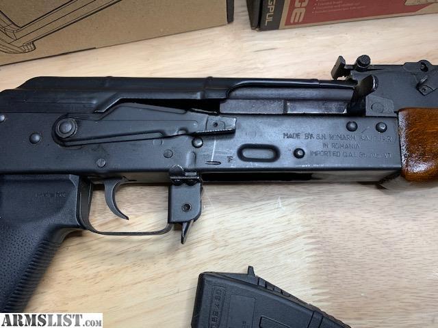 ARMSLIST - For Sale: Romanian AK-47 SAR-1