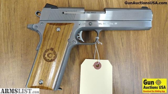 ARMSLIST - For Sale: COONAN 1911-A1  357 MAGNUM Semi Auto Pistol