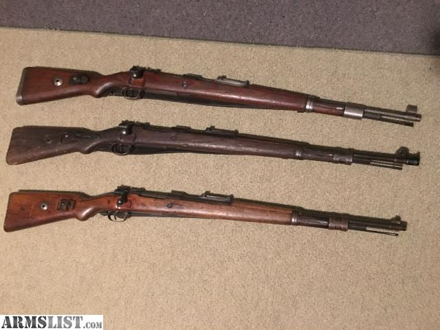 ARMSLIST - For Sale/Trade: TRADE! MAUSERS FOR MOSINS AND