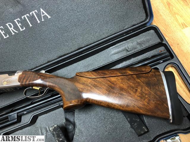 For Sale Beretta 682 Gold E Trap Combo 12GA 32 34